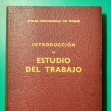 Libros de segunda mano: ESTUDIO DEL TRABAJO. O.I.T. GINEBRA. 1969.. Lote 182124591