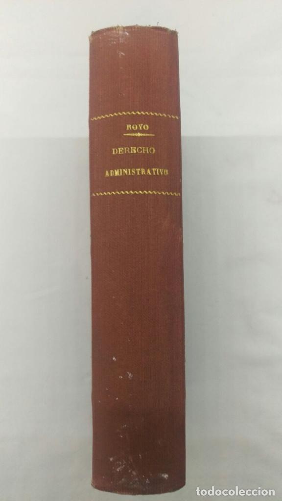ELEMENTOS DE DERECHO ADMINISTRATIVO, ANTONIO ROYO VILLANOVA, (Libros de Segunda Mano - Ciencias, Manuales y Oficios - Derecho, Economía y Comercio)