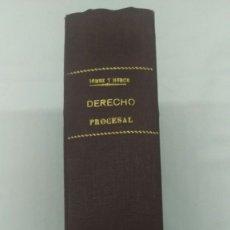 Libros de segunda mano: 6-DERECHO PROCESAL CIVIL, EMILIO GOMEZ ORBANEJA. Lote 182432970