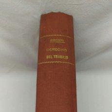 Libros de segunda mano: 3-DERECHO DEL TRABAJO- 1944. Lote 182432995