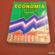 Libros de segunda mano: ECONOMIA TEORIA Y POLITICA - FRANCISCO MOCHÓN - EC1. Lote 182570371