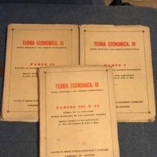 Libros de segunda mano: TEORIA ECONOMICA III COMISION DE APUNTES LUIS A ROJO FACULTAD DE CIENCIAS POLITICAS ECONOMICAS Y SOC. Lote 183027597