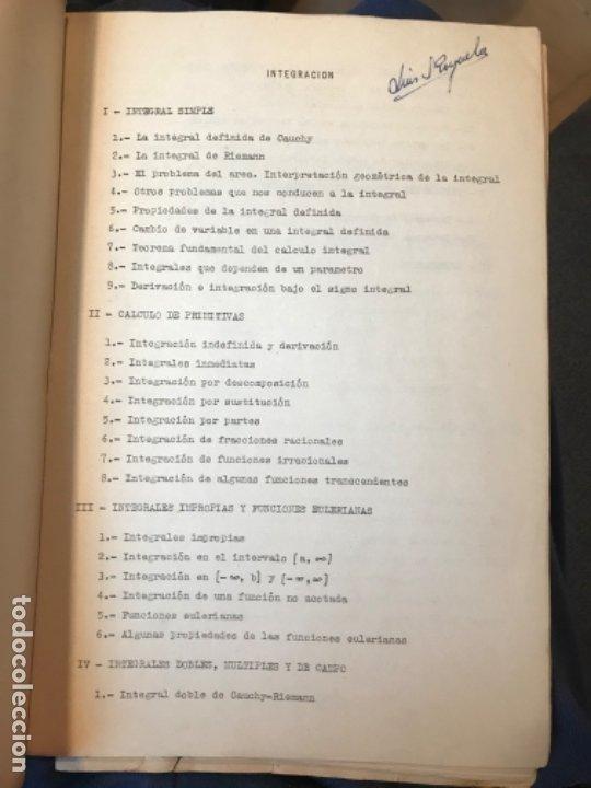 Libros de segunda mano: MATEMATICAS PARA ECONOMISTAS 1959 fasciculo 9 integracion ARNAIZ/GIL/PELAEZ/VEGAS - Foto 2 - 183055420