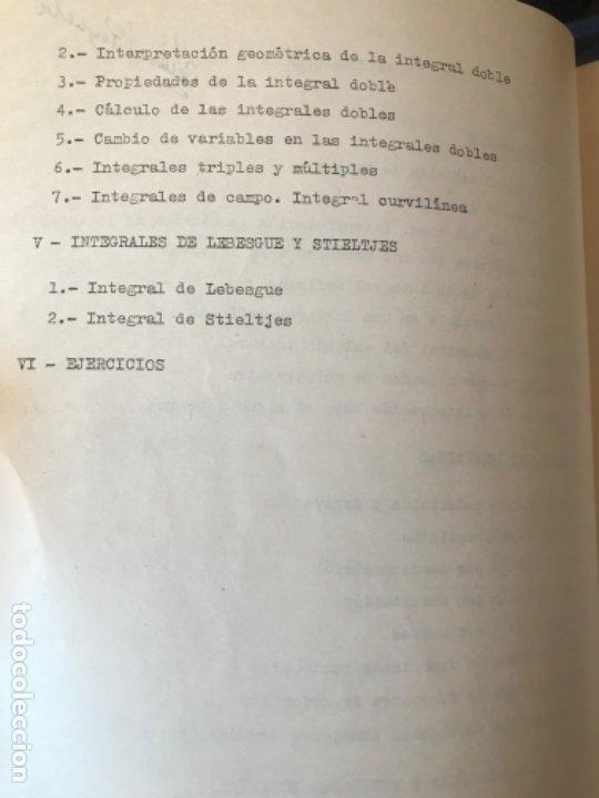 Libros de segunda mano: MATEMATICAS PARA ECONOMISTAS 1959 fasciculo 9 integracion ARNAIZ/GIL/PELAEZ/VEGAS - Foto 3 - 183055420