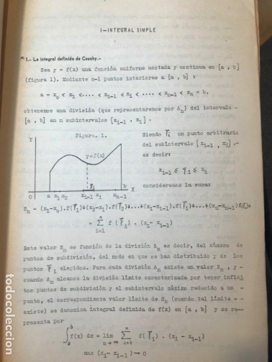 Libros de segunda mano: MATEMATICAS PARA ECONOMISTAS 1959 fasciculo 9 integracion ARNAIZ/GIL/PELAEZ/VEGAS - Foto 4 - 183055420