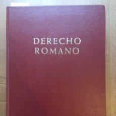 Libros de segunda mano: DERECHO ROMANO, INSTITUCIONES DE DERECHO PRIVADO, JUAN IGLESIAS. Lote 183055700