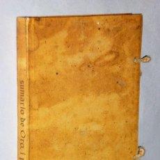 Libros de segunda mano: SUMARIO COMPENDIOSO DE LAS CUENTAS DE PLATA Y ORO QUE EN LOS REYNOS DEL PIRU SON NECESARIAS…. Lote 183447631