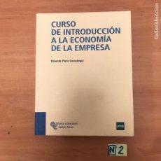 Livros em segunda mão: CURSO DE INSTRUCCIÓN A LA ECONOMÍA DE EMPRESA. Lote 183859927