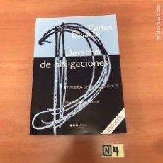 Libros de segunda mano: DERECHO DE OBLIGACIONES. Lote 183951151