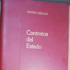Libros de segunda mano: CONTRATOS DEL ESTADO. COLECCION TEXTOS LEGALES. BOLETIN OFICIAL DEL ESTADO. 1968.. Lote 184002882