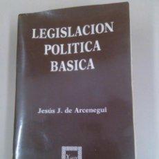 Libros de segunda mano: LEGISLACIÓN POLÍTICA BÁSICA. Lote 184040516
