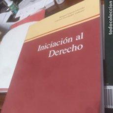 Libros de segunda mano: INICIACIÓN AL DERECHO MANUEL GARCÍA GARRIDO. Lote 184447567