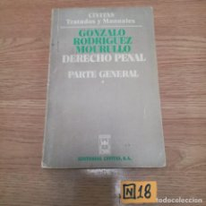 Libros de segunda mano: DERECHO PENAL. Lote 184699502