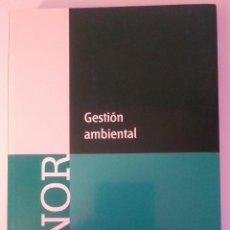 Libros de segunda mano: GESTION AMBIENTAL. AENOR. EDICIONES. 2006. DEBIBL. Lote 185055160