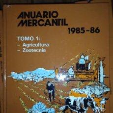 Libros de segunda mano: ANUARIO MERCANTIL 1985/1986 COMPAÑIA TELEFÓNICA NACIONAL DE ESPAÑA CETESA. Lote 187230892