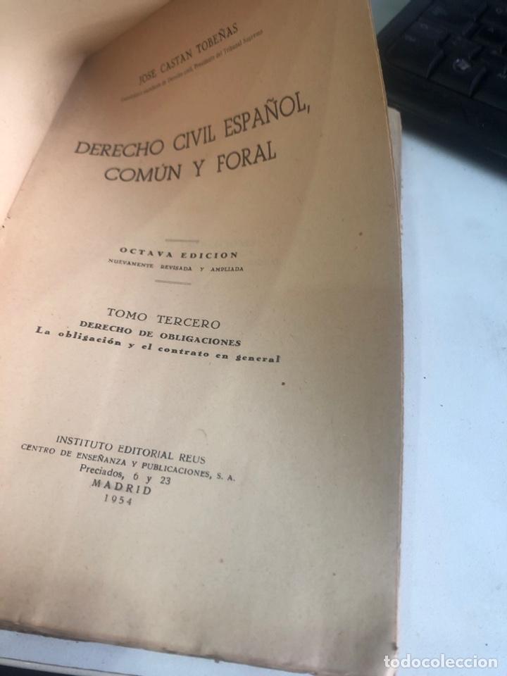 Libros de segunda mano: Derecho civil español, común y foral - Foto 2 - 188490678