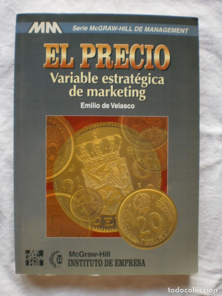 EL PRECIO. VARIABLE ESTRATEGICA DE MARKETING (Libros de Segunda Mano - Ciencias, Manuales y Oficios - Derecho, Economía y Comercio)