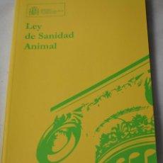 Libros de segunda mano: LEY DE SANIDAD ANIMAL.VV.AA. Lote 190468622
