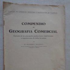 Libros de segunda mano: COMPENDIO DE GEOGRAFIA Y COMERCIO.798. Lote 191107365