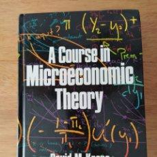 Libros de segunda mano: DAVID KREPS: A COURSE IN MICROECONOMIC THEORY. Lote 191890903