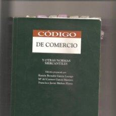 Libros de segunda mano: 976. CÓDIGO DE COMERCIO Y OTRAS NORMAS MERCANTILES. THOMSON ARANZADI. 13ª EDICION SEPTIEMBRE 2007. Lote 192380428