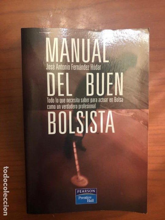 MANUAL DEL BUEN BOLSISTA. (Libros de Segunda Mano - Ciencias, Manuales y Oficios - Derecho, Economía y Comercio)