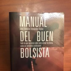 Libros de segunda mano: MANUAL DEL BUEN BOLSISTA. . Lote 192553475