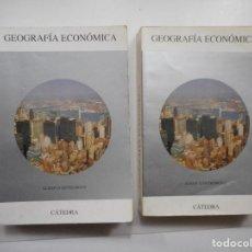 Libros de segunda mano: ALBAN D´ENTREMONT GEOGRAFÍA ECONÓMICA (2 TOMOS) Y98404T . Lote 192876920