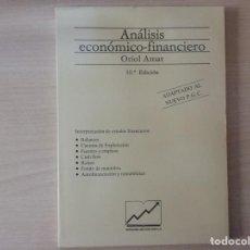 Libros de segunda mano: ANÁLISIS ECONÓMICO-FINANCIERO - ORIOL AMAT (EDICIONS GESTIÓN 2000, 10 EDICIÓN). Lote 194184340