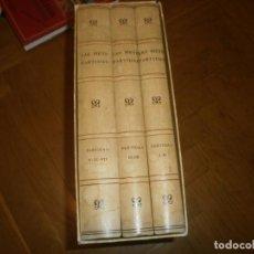 Libros de segunda mano: LAS SIETE PARTIDAS DEL SABIO REY DON ALONSO EL NONO FACSIMIL 1555 3 VOLS ESTUCHE 1974 BOE. Lote 194198667