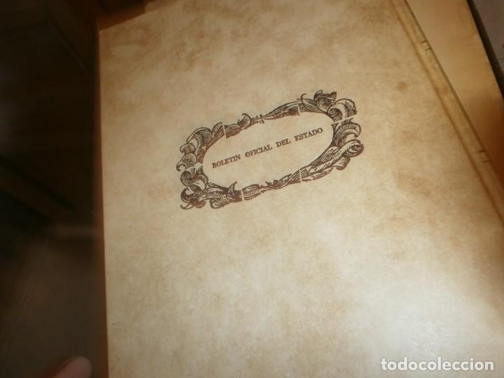 Libros de segunda mano: Las Siete Partidas del Sabio Rey don Alonso el Nono facsimil 1555 3 vols estuche 1974 BOE - Foto 7 - 194198667