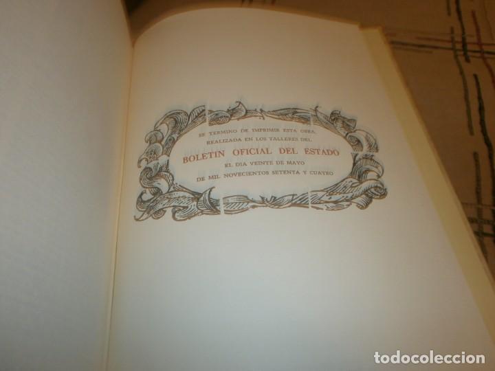 Libros de segunda mano: Las Siete Partidas del Sabio Rey don Alonso el Nono facsimil 1555 3 vols estuche 1974 BOE - Foto 10 - 194198667