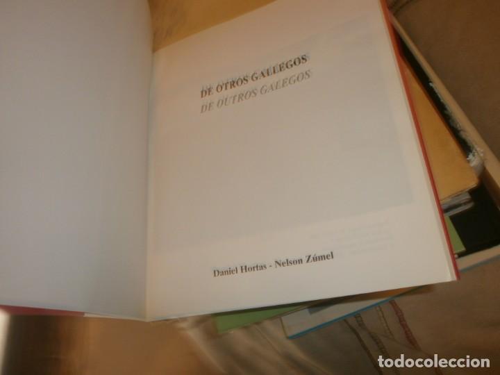 Libros de segunda mano: De otros gallegos outros galegos edic. bilingue Daniel Hortas - Nelson Zúmel AM editores Madrid 1998 - Foto 3 - 194200323