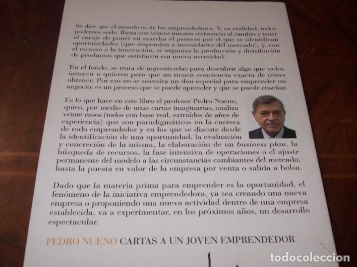 Libros de segunda mano: Cartas a un joven emprendedor, Pedro Nueno. Noema 2.007 - Foto 2 - 194227928