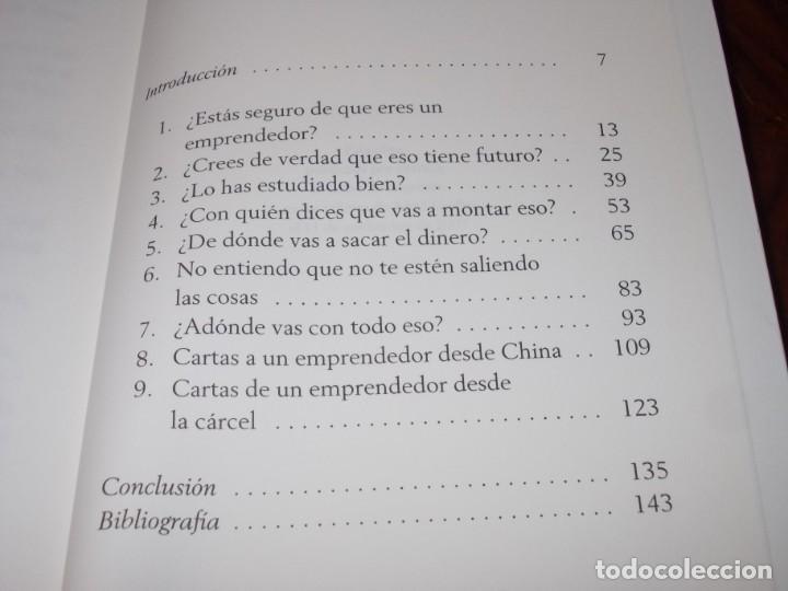 Libros de segunda mano: Cartas a un joven emprendedor, Pedro Nueno. Noema 2.007 - Foto 3 - 194227928