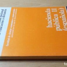 Libros de segunda mano: HACIENDA PUBLICA ESPAÑOLA II - UNIDAD DIDACTICA 4 - UNED/ B803. Lote 194239665