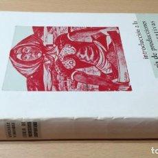 Libros de segunda mano: INTRODUCCION TEORIA PRODUCCIONES COOPERATIVAS - VICENTE GONZALEZ/ G602. Lote 194242355