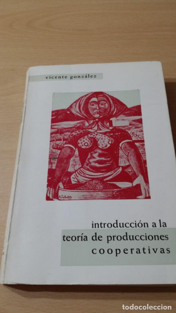 Libros de segunda mano: INTRODUCCION TEORIA PRODUCCIONES COOPERATIVAS - VICENTE GONZALEZ/ G602 - Foto 5 - 194242355