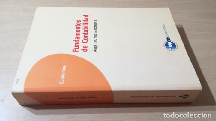 FUNDAMENTOS DE CONTABILIDAD - ANGEL MUÑOZ MERCHANTE - UNED/ G602 (Libros de Segunda Mano - Ciencias, Manuales y Oficios - Derecho, Economía y Comercio)