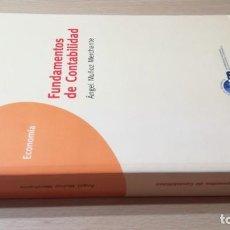 Libros de segunda mano: FUNDAMENTOS DE CONTABILIDAD - ANGEL MUÑOZ MERCHANTE - UNED/ G602. Lote 194242443