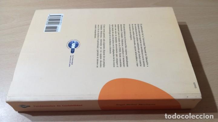 Libros de segunda mano: FUNDAMENTOS DE CONTABILIDAD - ANGEL MUÑOZ MERCHANTE - UNED/ G602 - Foto 2 - 194242443