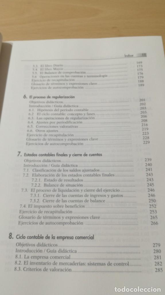 Libros de segunda mano: FUNDAMENTOS DE CONTABILIDAD - ANGEL MUÑOZ MERCHANTE - UNED/ G602 - Foto 9 - 194242443