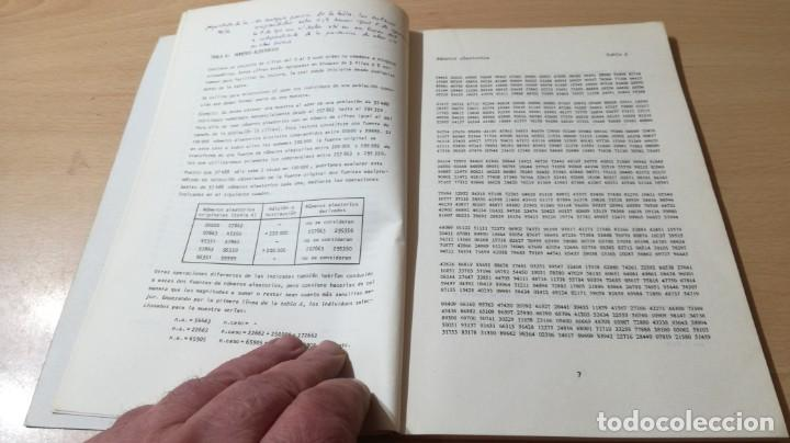 Libros de segunda mano: TABLAS DE ESTADISTICA - J M DOMENECH - HERDER/ G602 - Foto 7 - 194242645