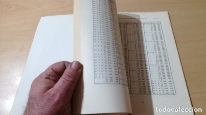 Libros de segunda mano: TABLAS DE ESTADISTICA - J M DOMENECH - HERDER/ G602 - Foto 8 - 194242645