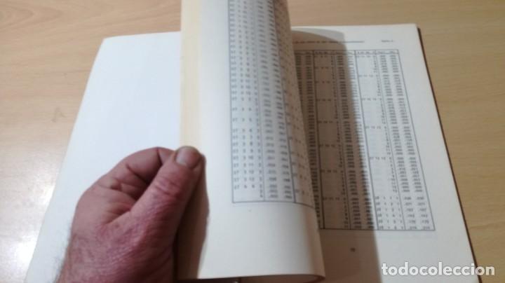 Libros de segunda mano: TABLAS DE ESTADISTICA - J M DOMENECH - HERDER/ G602 - Foto 9 - 194242645