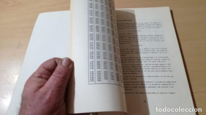 Libros de segunda mano: TABLAS DE ESTADISTICA - J M DOMENECH - HERDER/ G602 - Foto 13 - 194242645