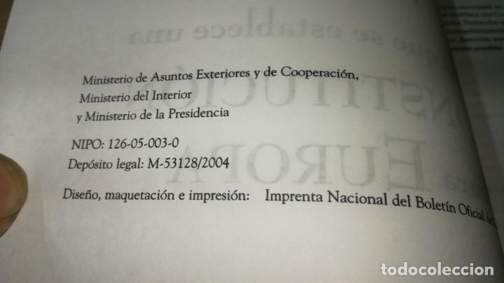 Libros de segunda mano: TRATADO POR EL QUE SE ESTABLECE UNA CONSTITUCION PARA EUROPA/ G401 - Foto 3 - 194242748