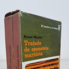 Libros de segunda mano: TRATADO DE ECONOMÍA MARXISTA TOMO I - II - ERNEST MANDEL - EDICIONES ERA - EL HOMBRE Y SU TIEMPO. Lote 194259216
