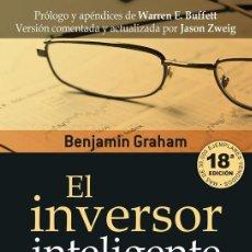 Libros de segunda mano: EL INVERSOR INTELIGENTE. - GRAHAM, BENJAMIN.. Lote 194325116