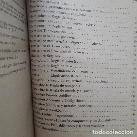 Libros de segunda mano: TRATADO DE CÁLCULO COMERCIAL. EJERCICIOS Y PROBLEMAS (LIBRO DEL MAESTRO). G. M. BRUÑO - Foto 4 - 194518801